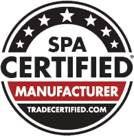 Master Spas is a Spa Certified Manufacturer from tradecertified.com