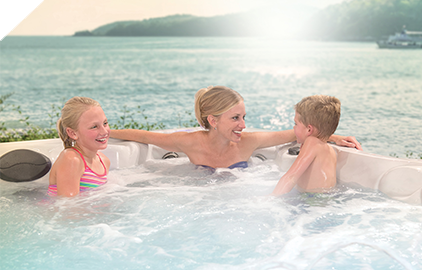 Enjoy your favorite music in your hot tub