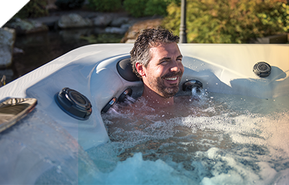 Master Spas StressRelief Seat soothes away aches and pains