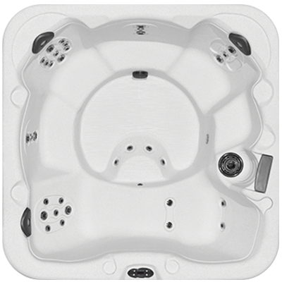 Getaway 6 hot tub model downshot