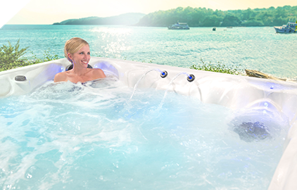 Healthy Living hot tubs offer a wealth of wellness benefits.