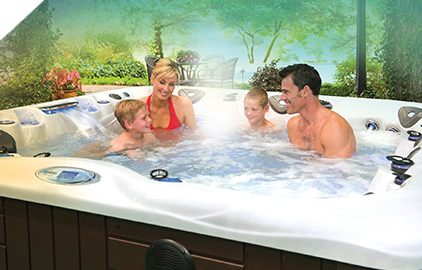 A Master Spa is fun for the whole family to enjoy.