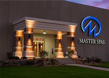 Master Spas headquarters and manufacturing facility in Fort Wayne Indiana