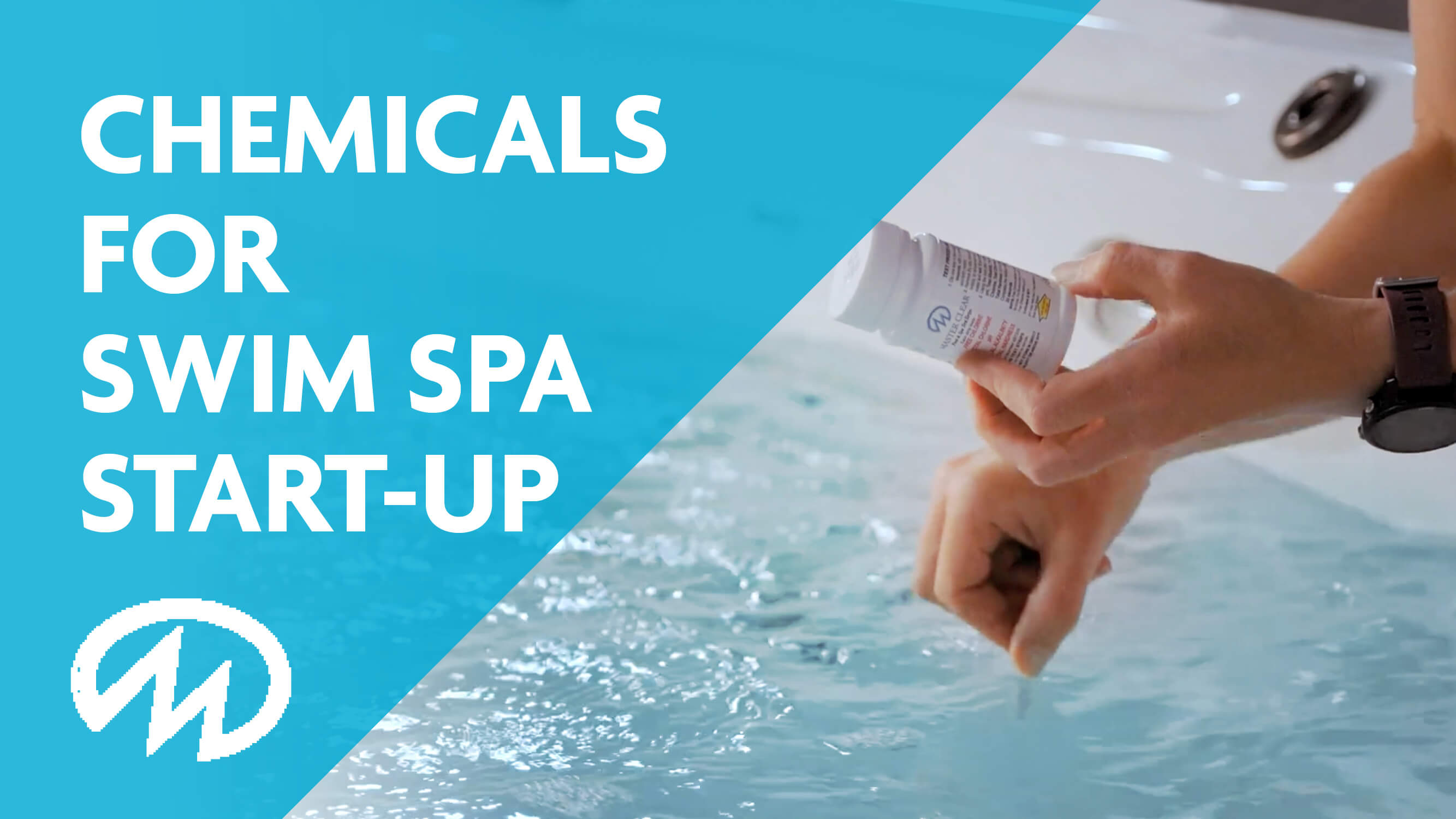 Chemicals for swim spa start up