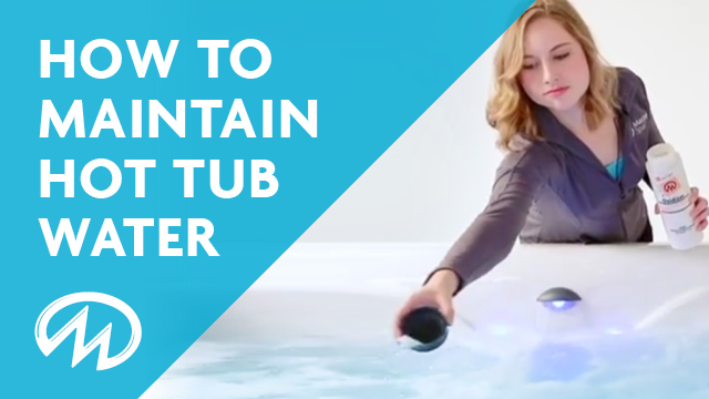 How to maintain the water in your master spas hot tub